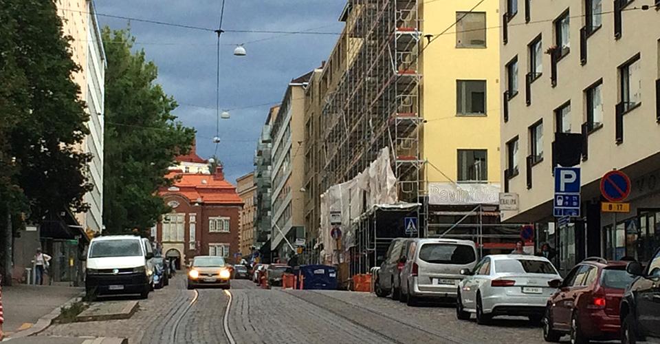 Valokuva Helsingistä