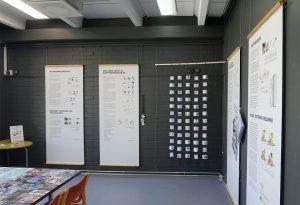 Näyttely kuvakommunikaatiosta Hakunilan kirjastossa
