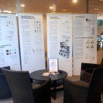 Näyttely kuvakommunikaatiosta Otaniemen Laurea ammattikorkeakoulussa