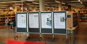 Näyttely kuvakommunikaatiosta Viikin kirjastossa