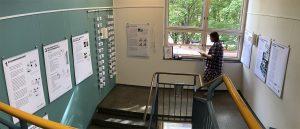 Näyttely kuvakommnikaatiosta Etelä-Haagan kirjastossa