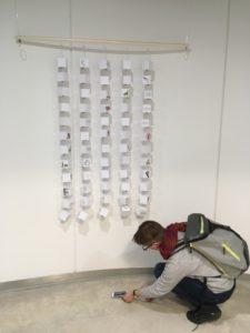 Näyttely kuvakommunikaatiosta Myllypuron kampuksella